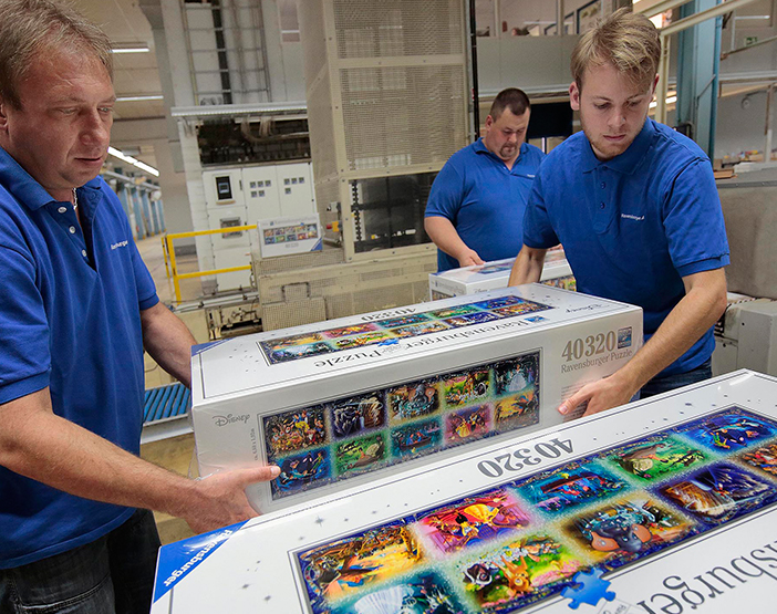 Employees and the Ravensburger puzzle